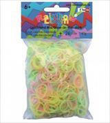 Cover-Bild zu Rainbow Loom Gummibänder Leuchtend Mix / Glow in the dark
