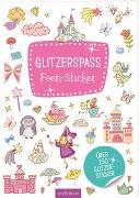 Cover-Bild zu Glitzerspaß Feen-Sticker