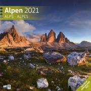 Cover-Bild zu Alpen Kalender 2021 - 30x30 von Ackermann Kunstverlag (Hrsg.)