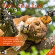 Cover-Bild zu Keep Smiling! Kalender 2021 - 30x30 von Ackermann Kunstverlag (Hrsg.)