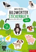 Cover-Bild zu Mein erstes Bildwörter-Stickerbuch - Tiere