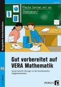 Cover-Bild zu Gut vorbereitet auf VERA Mathematik von Kraft, Ellen