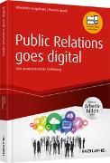 Cover-Bild zu Public Relations goes digital - inkl. Arbeitshilfen online