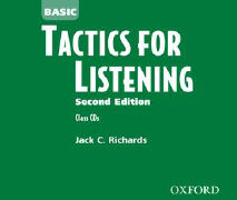 Cover-Bild zu Basic Tactics for Listening, Second Edition. Class Audio CDs von Richards, Jack C.