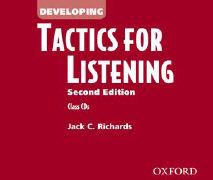 Cover-Bild zu Tactics for Listening: Developing Tactics for Listening, Second Edition: Class Audio CDs (3) von Richards, Jack C.