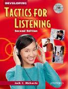 Cover-Bild zu Tactics for Listening: Developing Tactics for Listening, Second Edition: Student Book with Audio CD von Richards, Jack C.