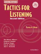 Cover-Bild zu Tactics for Listening: Developing Tactics for Listening, Second Edition: Teacher's Book with Audio CD von Richards, Jack C.