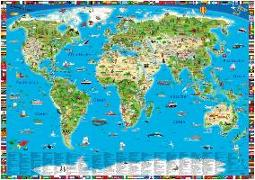 Cover-Bild zu Kinderweltkarte