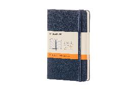 Cover-Bild zu Moleskine: Moleskine Sapphire Blue Pocket Ruled Not