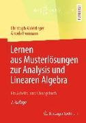 Cover-Bild zu Lernen aus Musterlösungen zur Analysis und Linearen Algebra