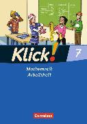 Cover-Bild zu Klick! Mathematik 7. Schuljahr. Arbeitsheft von Friedemann-Zemkalis, Enno