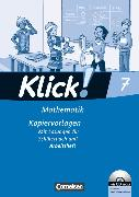 Cover-Bild zu Klick! Mathematik 7. Schuljahr. Kopiervorlagen von Friedemann-Zemkalis, Enno