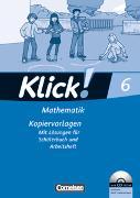 Cover-Bild zu Klick! Mathematik 6. Schuljahr. Kopiervorlagen von Breucker, Thomas