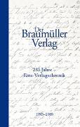 Cover-Bild zu Schuchter, Bernd: Der Braumüller Verlag und seine Zeit