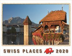 Cover-Bild zu Cal. Swiss Places Ft. 40x31 2020