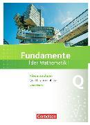 Cover-Bild zu Fundamente der Mathematik. Qualifikationsphase. Schülerbuch. NI von Block, Jan