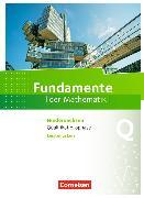 Cover-Bild zu Fundamente der Mathematik 8. Schuljahr. Qualifikationsphase - Leistungskurs - Schülerbuch. NI von Block, Jan