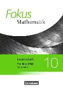 Cover-Bild zu Fokus Mathematik 10. Schuljahr. Ausgabe 2015. Lösungen zum Schülerbuch. RP von Belthle, Friedhart