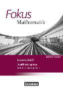 Cover-Bild zu Fokus Mathematik. Qualifikationsphase. Lösungen. NW von Belthle, Friedhart
