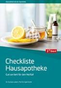 Cover-Bild zu Lebert, Cordula: Checkliste Hausapotheke
