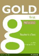 Cover-Bild zu New Gold First NE 2015 Teacher's e-Text von Bell, Jan