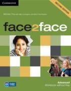 Cover-Bild zu face2face Advanced. Workbook without Key von Tims, Nicholas