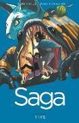 Cover-Bild zu Brian K Vaughan: Saga Volume 5