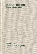 Cover-Bild zu Melanchthon, Philipp: Melanchthons Briefwechsel / Band T 13: Texte 3421-3779 (1544) (eBook)