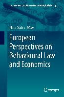 Cover-Bild zu Mathis, Klaus (Hrsg.): European Perspectives on Behavioural Law and Economics