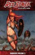 Cover-Bild zu Brian Reed: Red Sonja: She-Devil with a Sword Omnibus Volume 3