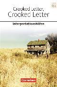 Cover-Bild zu Crooked Letter. Ab 11. Schuljahr. Interpretationshilfe