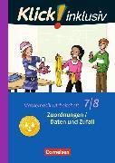 Cover-Bild zu Klick! inklusiv 7./8. Schuljahr. Zuordnungen / Daten und Zufall. Arbeitsheft 4 von Jenert, Elisabeth