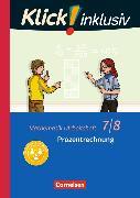 Cover-Bild zu Klick! inklusiv 7./8. Schuljahr. Prozentrechnung. Arbeitsheft 3 von Jenert, Elisabeth