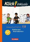Cover-Bild zu Klick! inklusiv 7./8. Schuljahr. Brüche und Dezimalzahlen. Arbeitsheft 2 von Jenert, Elisabeth