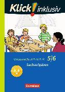 Cover-Bild zu Klick! inklusiv 5./6. Schuljahr. Sachaufgaben. Arbeitsheft 6 von Jenert, Elisabeth