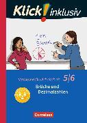 Cover-Bild zu Klick! inklusiv 5./6. Schuljahr. Brüche und Dezimalzahlen. Arbeitsheft 3 von Jenert, Elisabeth