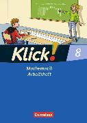 Cover-Bild zu Klick! Mathematik 8. Schuljahr. Allgemeine Ausgabe. Arbeitsheft von Friedemann-Zemkalis, Enno