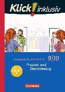 Cover-Bild zu Klick! inklusiv 9./10. Schuljahr. Prozent- und Zinsrechnung. Arbeitsheft 3 von Jenert, Elisabeth