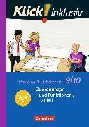 Cover-Bild zu Klick! inklusiv 9./10. Schuljahr. Zuordnungen und Funktionen / Zufall. Arbeitsheft 4 von Jenert, Elisabeth