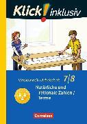 Cover-Bild zu Klick! inklusiv 7./8. Schuljahr. Natürliche und rationale Zahlen / Terme. Arbeitsheft 1 von Jenert, Elisabeth