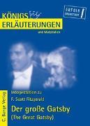 Cover-Bild zu Der große Gatsby - The Great Gatsby von F. Scott Fitzgerald von Fitzgerald, F. Scott