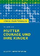 Cover-Bild zu Mutter Courage und ihre Kinder von Bertolt Brecht (eBook) von Brecht, Bertolt