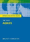 Cover-Bild zu Agnes von Peter Stamm. Königs Erläuterungen (eBook) von Stamm, Peter