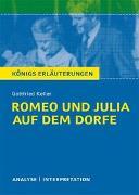 Cover-Bild zu Romeo und Julia auf dem Dorfe von Gottfried Keller von Keller, Gottfried