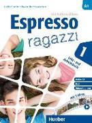 Cover-Bild zu Espresso ragazzi 1. Lehr- und Arbeitsbuch mit DVD und Audio-CD - Schulbuchausgabe von Orlandino, Euridice