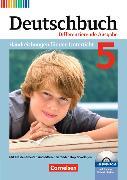 Cover-Bild zu Deutschbuch 5. Schuljahr. Differenzierende Ausgabe. Handreichungen für den Unterricht von Bohlinger, Janine