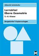 Cover-Bild zu Lernzirkel Ebene Geometrie - Kopiervorlagen von Schiekofer, Albrecht