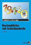 Cover-Bild zu Rechenblätter mit Selbstkontrolle - 2. Klasse von Müller, Heiner