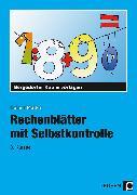 Cover-Bild zu Rechenblätter mit Selbstkontrolle - 3. Klasse von Müller, Heiner