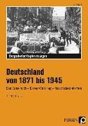 Cover-Bild zu Deutschland von 1871 bis 1945 von Eggert, Jens